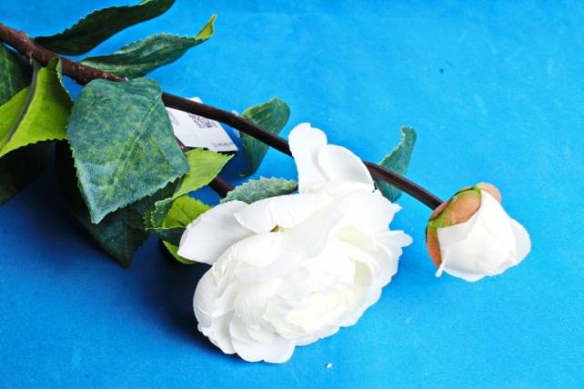 Искусственное растение - Роза белая  1887