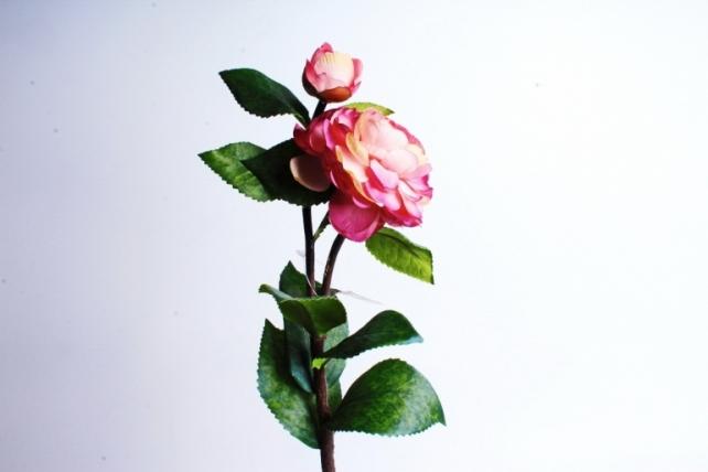 Искусственное растение - Роза малиновая  1887