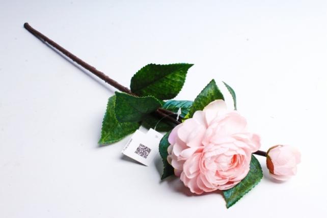 Искусственное растение - Роза розовая 1887