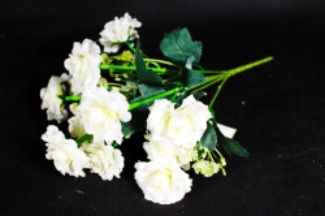 Искусственное растение - Роза садовая белая