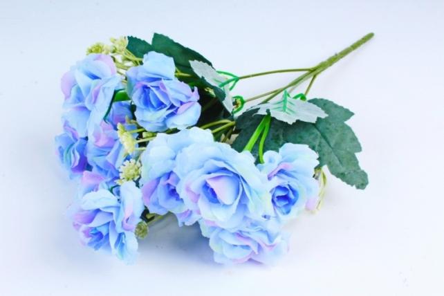 Искусственное растение - Роза садовая голубая