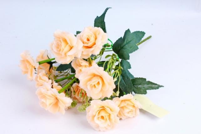 Искусственное растение - Роза садовая персиковая
