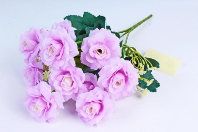 Искусственное растение - Роза садовая сиреневая