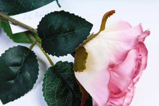 Искусственное растение - Роза сиренево-розовая  7513