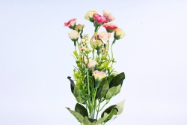 Искусственное растение - Розанчики микс
