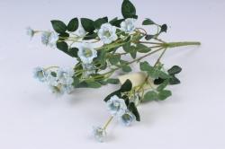 Искусственное растение - Розочки миниатюрные голубые Б10750 h=37см