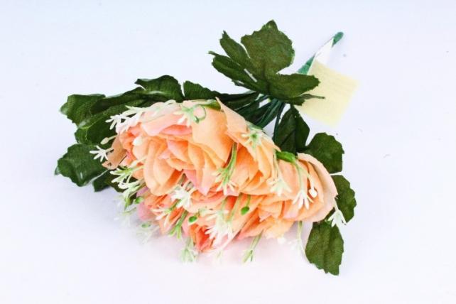 Искусственное растение - Розочки персиковые
