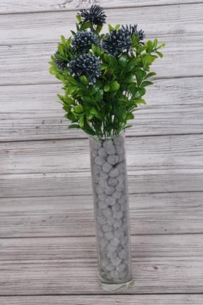 Искусственное растение - Самшит цветущий деним 30 см