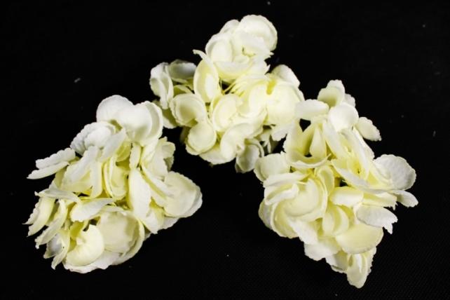 Искусственное растение - Соцветие гортензии  (3 шт) кремовый ART134