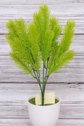 Искусственное растение - Сосна горная салатовая Н=35 см Б10913