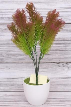 Искусственное растение - Сосна горная сиреневая Н=35 см Б10913