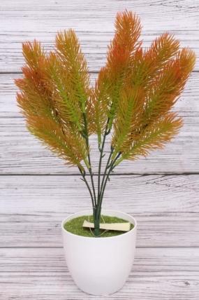 Искусственное растение - Сосна горная терракотовая Н=35 см Б10913