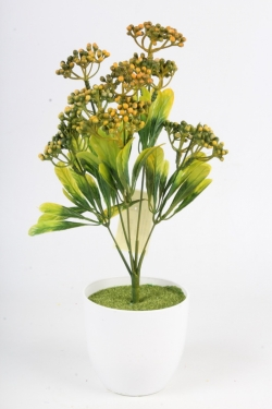 Искусственное растение - Спирея Бумальда терракотовая Н=32 см Б10783