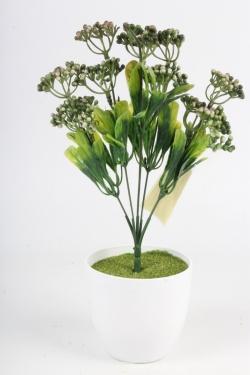 Искусственное растение - Спирея Бумальда зелёная Н=32 см Б10783