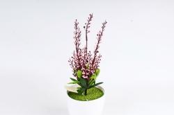 Искусственное растение - Верба японская розовая