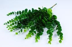 Искусственное растение - Ветка Эвкалипта  салатово-зелёный (12 шт в уп) TIK047