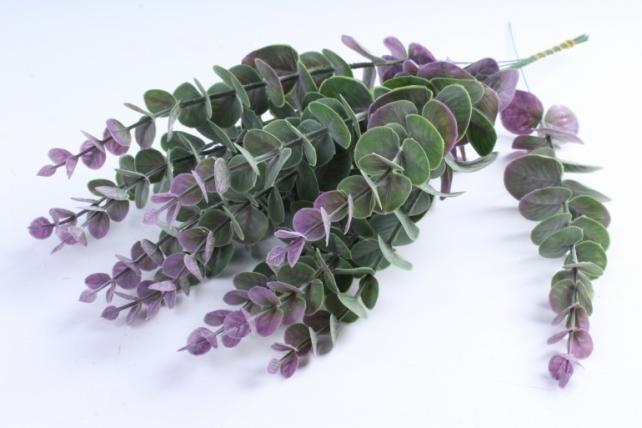 Искусственное растение - Ветка Эвкалипта 40 см сиреневый  TIK047