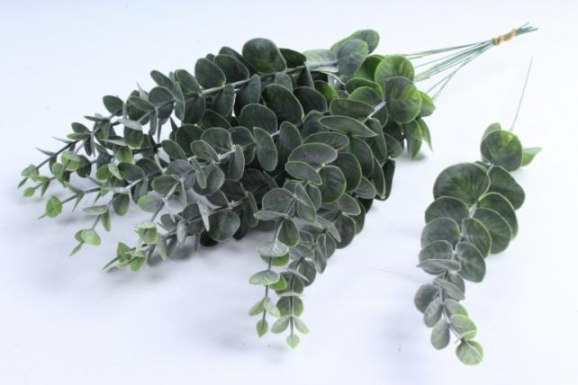 Искусственное растение - Ветка Эвкалипта 40 см зелёный  TIK047