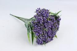 Искусственное растение - Ветка Лабазника фиолетовая  (12 шт в уп) TIK038