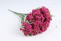 Искусственное растение - Ветка Лабазника малиновая  (12 шт в уп) TIK038