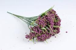 Искусственное растение - Ветка Лабазника сиреневая  (12 шт в уп) TIK038