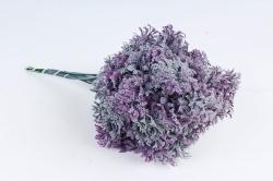 Искусственное растение - Ветка травы декор сиреневая  (12 шт в уп) TIK044