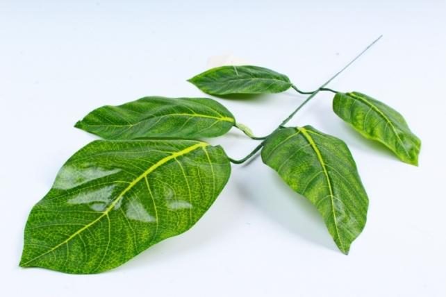 Искусственное растение - Веточка с листочками  А6