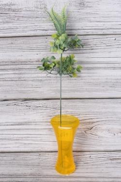 Искусственное растение - Веточка травы Росянка с папортником GAY50