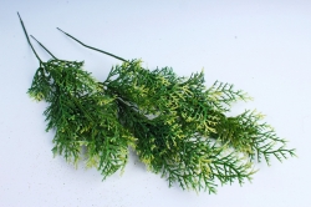 Искусственное растение - Веточка Туи (3 шт в уп) 4016