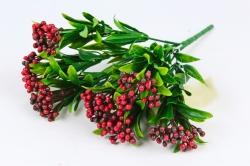 Искусственное растение - Водянка цветная  бордо Б10706