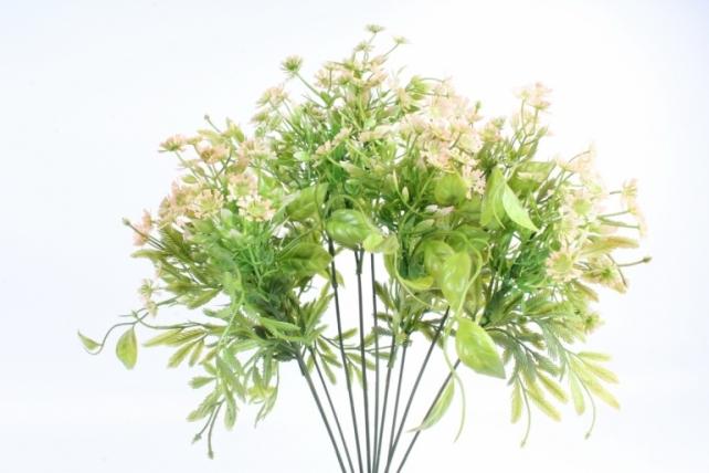 Искусственное растение - Зелень дизайнерская персиковая  Тцк