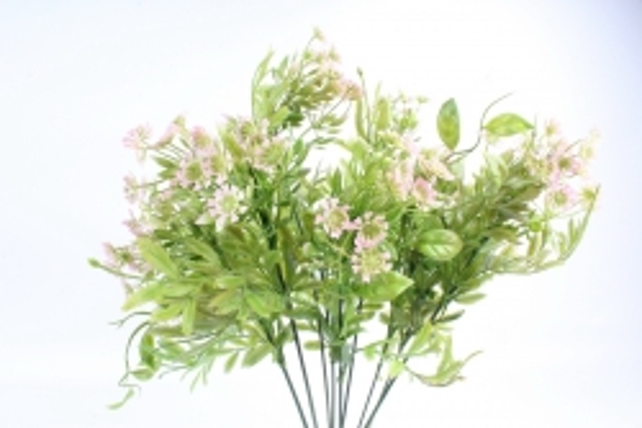 Искусственное растение - Зелень дизайнерская розовая  Тцк
