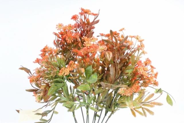 Искусственное растение - Зелень дизайнерская терракотовая  Тцк