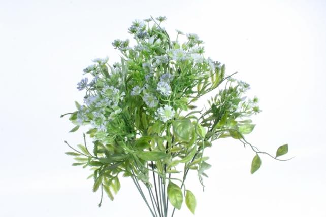 Искусственное растение - Зелень дизайнерская васильковая  Тцк