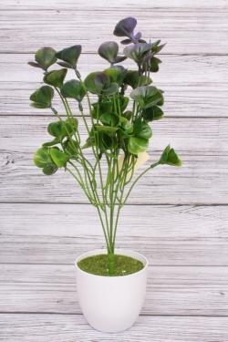 Искусственное растение - Зелень китайская сиреневая. 40 см.