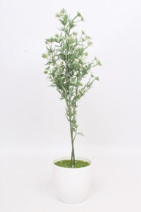 Искусственное растение - Зверобой белый Н=73 см