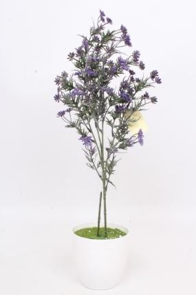 Искусственное растение - Зверобой фиолетовый Н=73 см