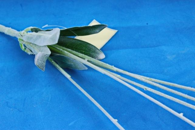 Искусственное растение -  Аллиум белый  (Т)