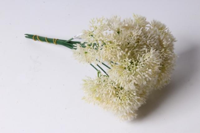 Искусственное растение - Аллиум Белый (12 шт в уп)  LIU219