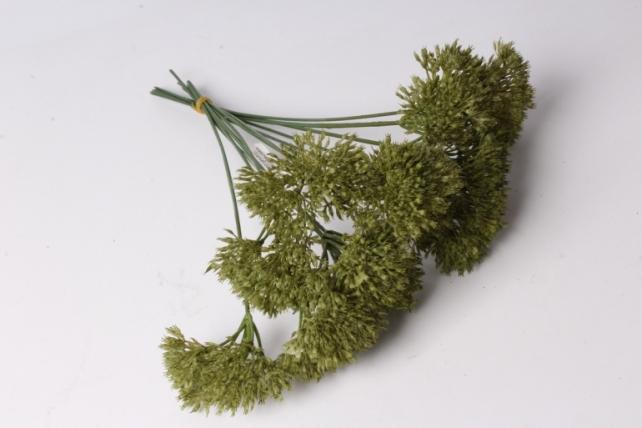 искусственное растение - аллиум олива  (12 шт в уп)  liu219