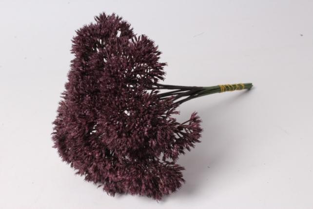 искусственное растение - аллиум сливовый (12 шт в уп)  liu219