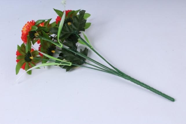 искусственное растение - анемона коралловая 33см