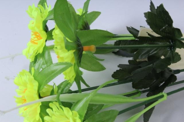 искусственное растение - анемона лимонная 33см