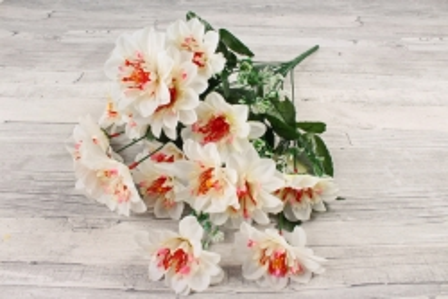 Искусственное растение -  Анемона высокая с гипсофилой   белая