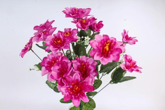 Искусственное растение -  Анемона высокая с гипсофилой   сиреневая