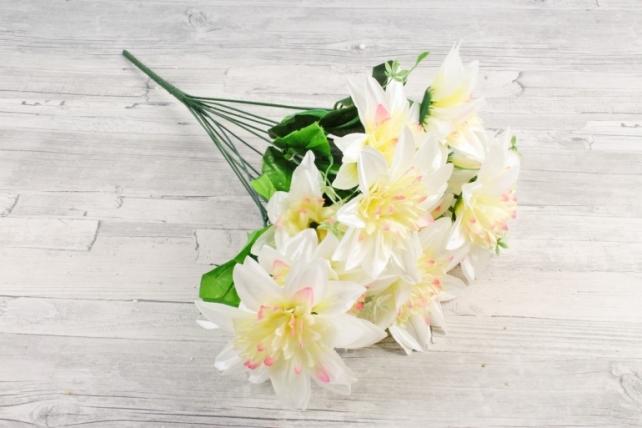 Искусственное растение -  Анемоны гигант   белые