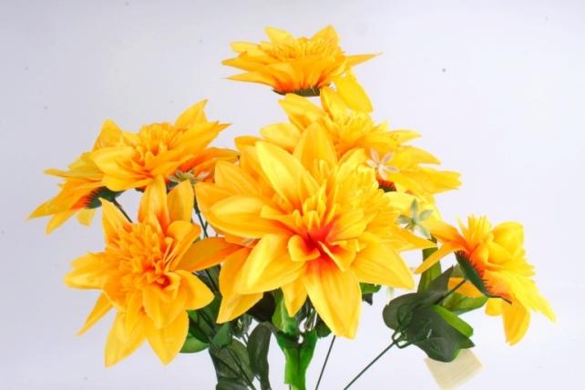 Искусственное растение -  Анемоны гигант  жёлтые