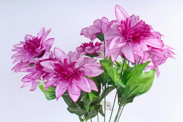 Искусственное растение -  Анемоны гигант   сиреневые