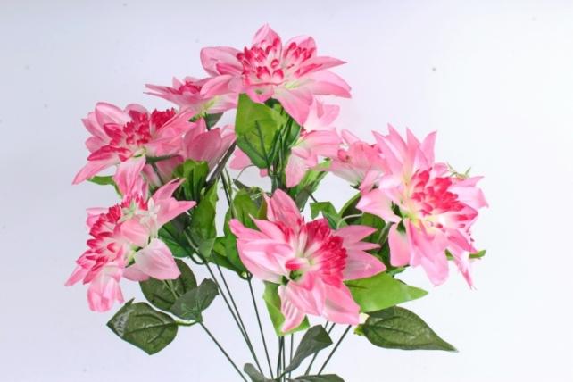 Искусственное растение -  Анемоны гигант   ярко-розовые