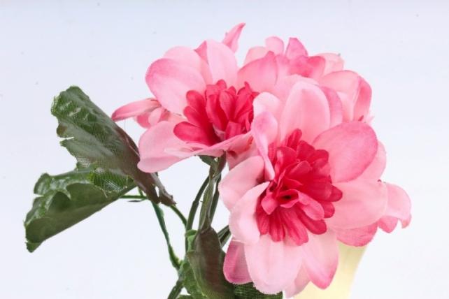 Искусственное растение -  Анемоны яркие розовые